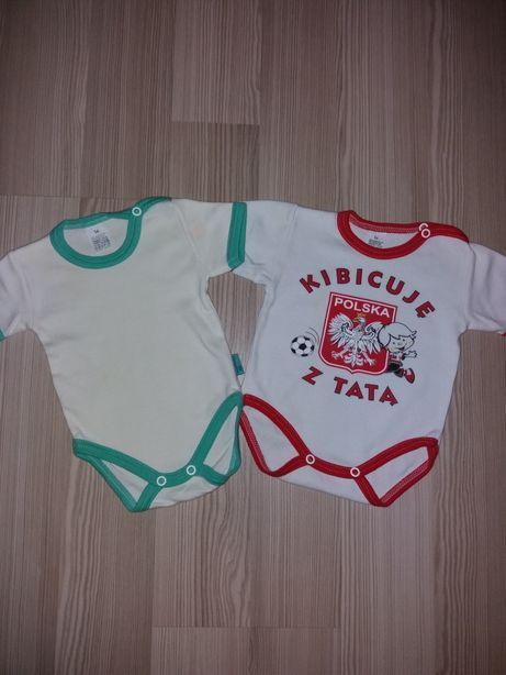 Body bawełniane niemowlęce 56