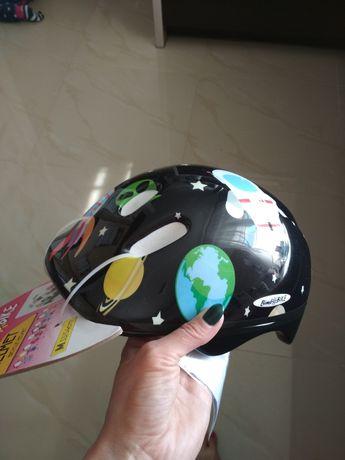 Kask rowerowy dziecięcy Kosmos nowy