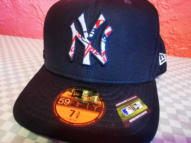 New York Yankees Batting Practice 59FIFTY Fitted MLB Authentic