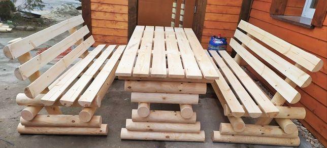 Stół + 2 ławki buda huśtawka studnia donica meble Producent