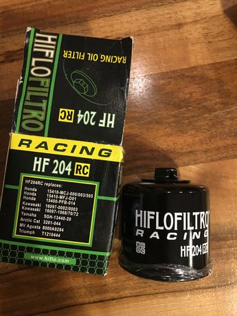 Filtr oleju HF204 rc Honda Hornet