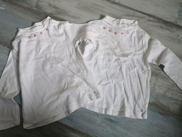 Bluzki Zara 110 dla bliźniaczek