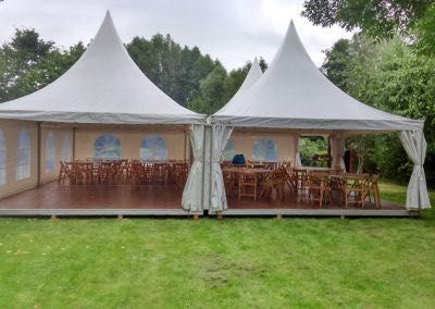 Wynajem namiotów imprezowych ogrodowych na urodziny komunię