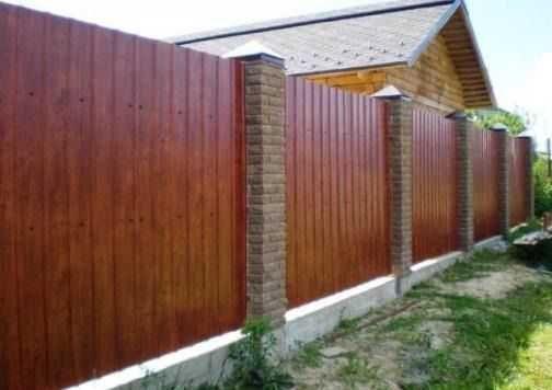 Заборы профлист бетонные работы стяжка домов