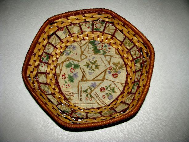 Плетеная корзина ручной работы для хлеба или фруктов Германия