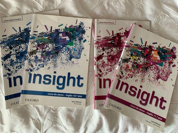 Insight 10 / 11 Oxford Livros de Inglês (Manual + CA)