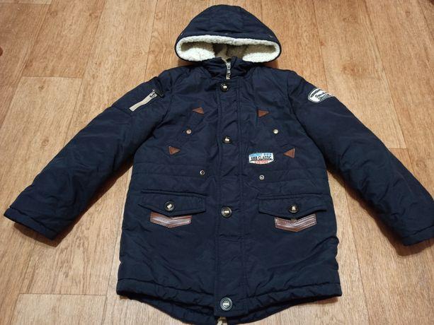 Зимняя куртка для мальчика 32/134