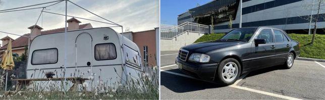 Mercedes C250D  +  Caravana