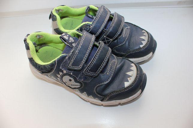 кроссовки 27 размер кожаные Clarks