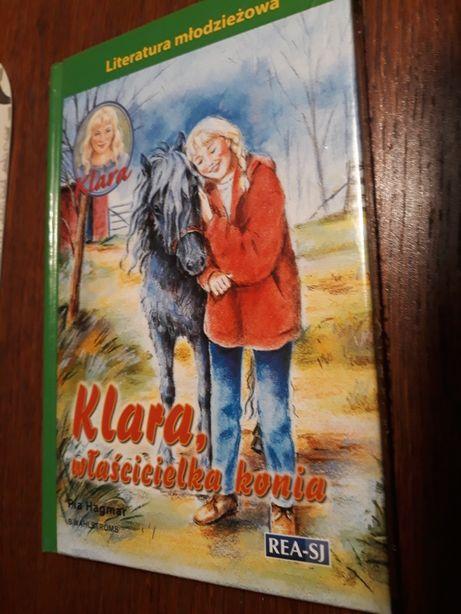Książka Dla dziewczynki KLARA właścicielka konia REA 136str NOWA
