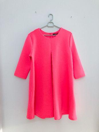 Sukienka różowa fluorescencyjna Mohito 38 M
