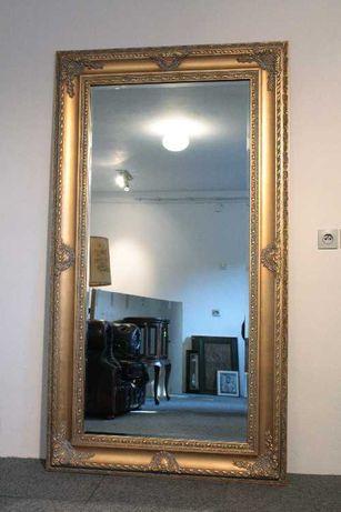 Lustro w stylowej złotej ramie - 180cm x 100cm