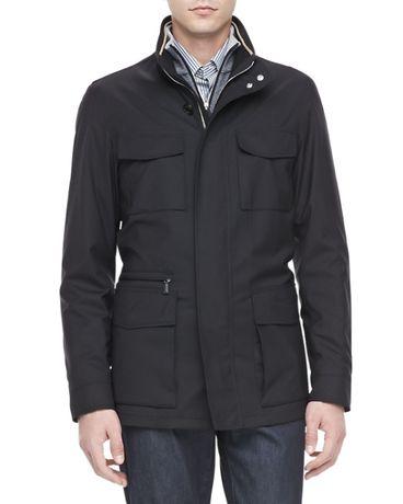 Шерстяная полевая куртка Ermenegildo Zegna