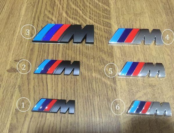 Simbolos BMW //M para Mala volante & Jantes