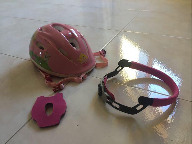 Capacete de proteção - menina até 10 anos
