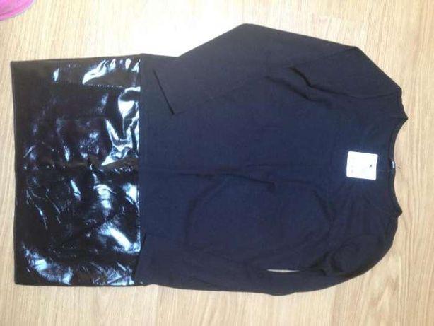 Vestido preto em algodão - NOVO Tamanho S