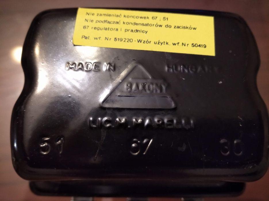 regulator napięcia prądnicy Fiat 126p lic.Magneti Marelli Ożarów Mazowiecki - image 1