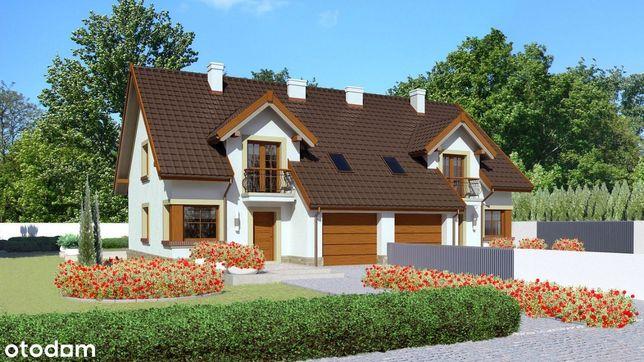 Dom jednorodzinny w zabudowie bliźniaczej
