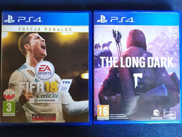 Gry PS4 FIFA 18 oraz The Long Dark