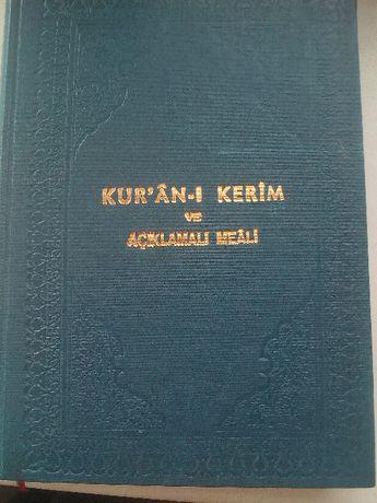 продам коран (türkçe ve arapça)