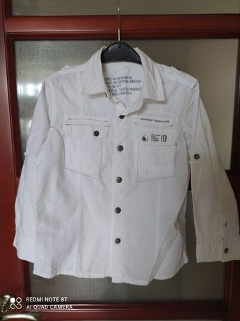 Рубашка для мальчика Next р. 6лет 116см