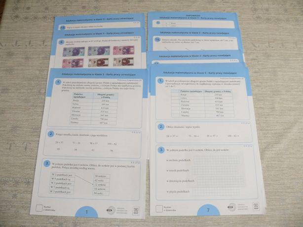 Test i karty rozwijające i utrwalające do podręczników WSiP dla kl. 3