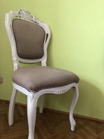 Komplet 4 krzeseł w stylu Ludwikowskim