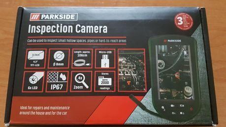Kamera inspekcja z wyświetlaczem Parkside