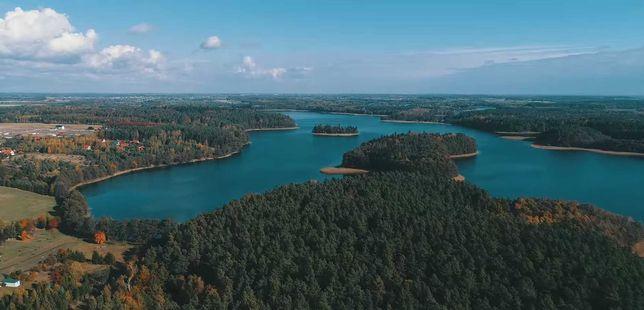 Oaza spokoju - siedlisko nad jeziorem w Borach Tucholskich