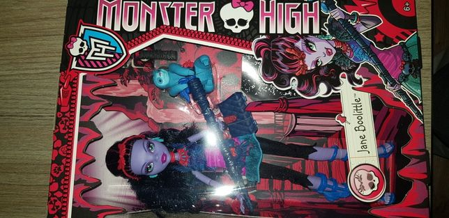 Lalka Monster High Jane Boolittle