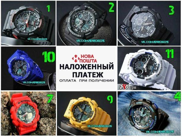 Наручные часы Casio G-Shock Ga-100 / Спортивные /