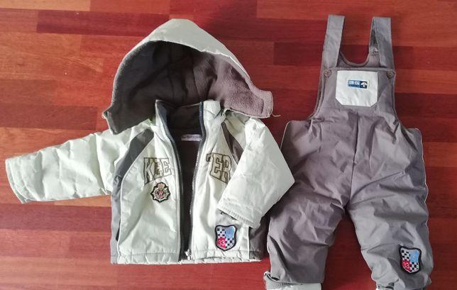 Kurtia i spodnie dla chłopca - rozm 90