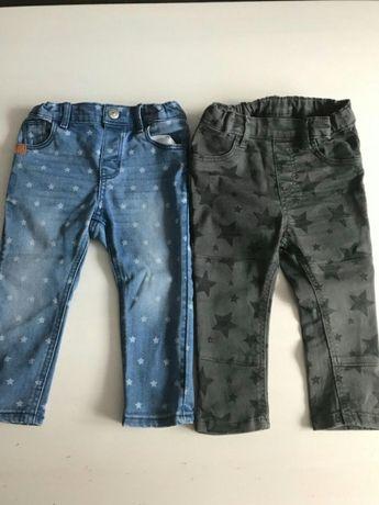 Dżinsy, spodnie H&M dla dziewczynki