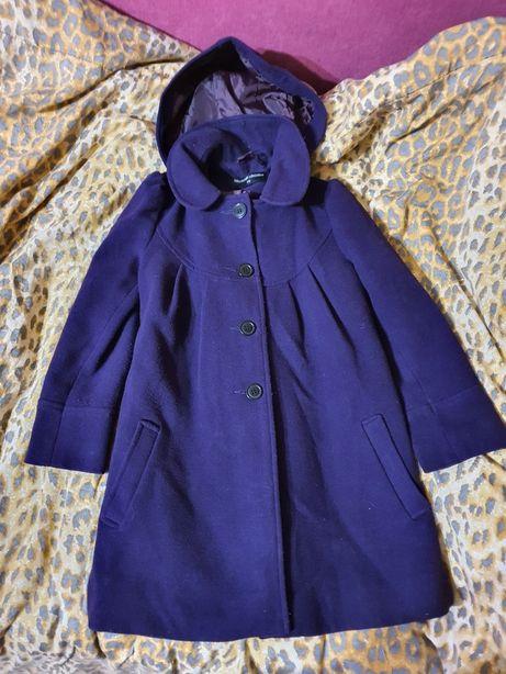 Пальто пальтишко демисезонное 122-134см
