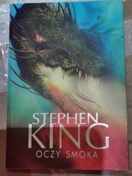 "Stephen King "" Oczy Smoka"""