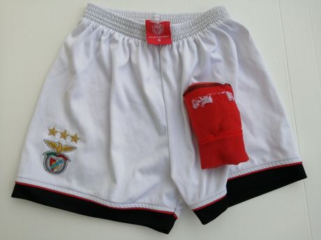 Calções & Meias SLB_ Benfica # 4-6 Anos