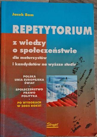 Wiedza o społeczeństwie LO kl.1-3 Repetytorium