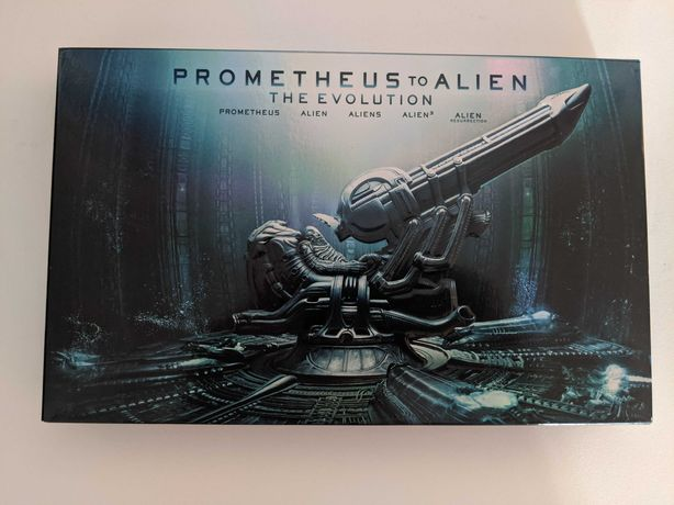 Prometheus a Alien bluray