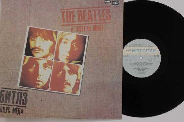 "Пластинка — The Beatles «A taste of money», ""A Hard Day's Night"","