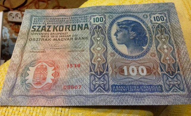 100 крон, 10 злотых