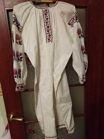 Платье вышиванка времён СССР