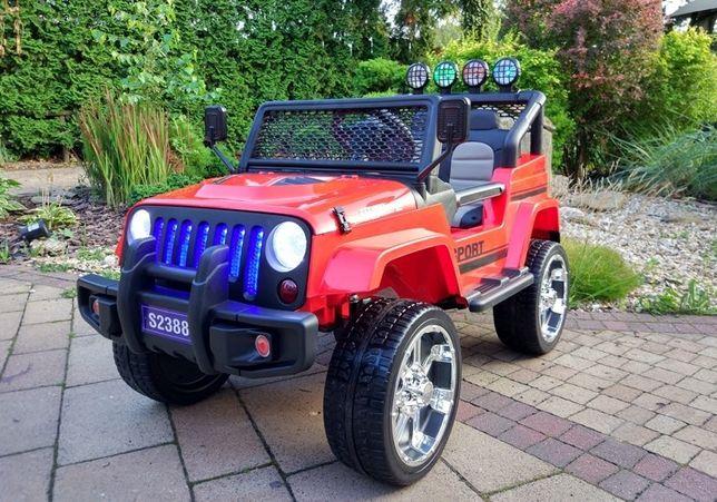 Samochód Jeep Sunshine 4x4 na akumulator dla dzieci