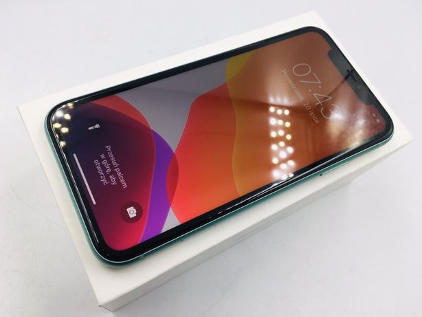 iPhone 11 64GB GREEN • PROMOCJA • GW do 15.11.2020 • AppleCentrum