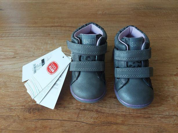 Nowe Cool club buciki dla dziewczynki r. 22, 14 cm