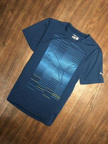 Мужская спортивная футболка puma t-shirt pt pure graphic trains