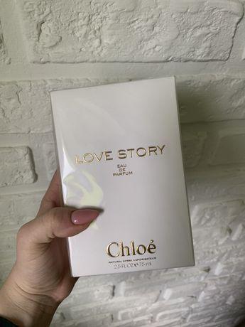 Новый Парфюм Духи Chloe Love story 75 ml