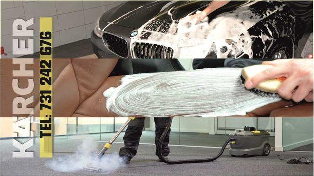Karcher Poznań i okolice dojazd gratis pranie dywanów czyszczenie aut
