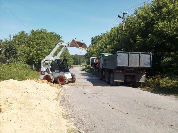 Вивоз строй мусора землі вывоз хламу загрузка вивіз демонтаж бобкет