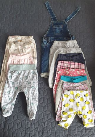Ubranka dla dziewczynki rozmiar 62-68