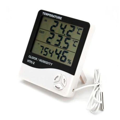 Цифрометр гигрометр метеостанція HTC2